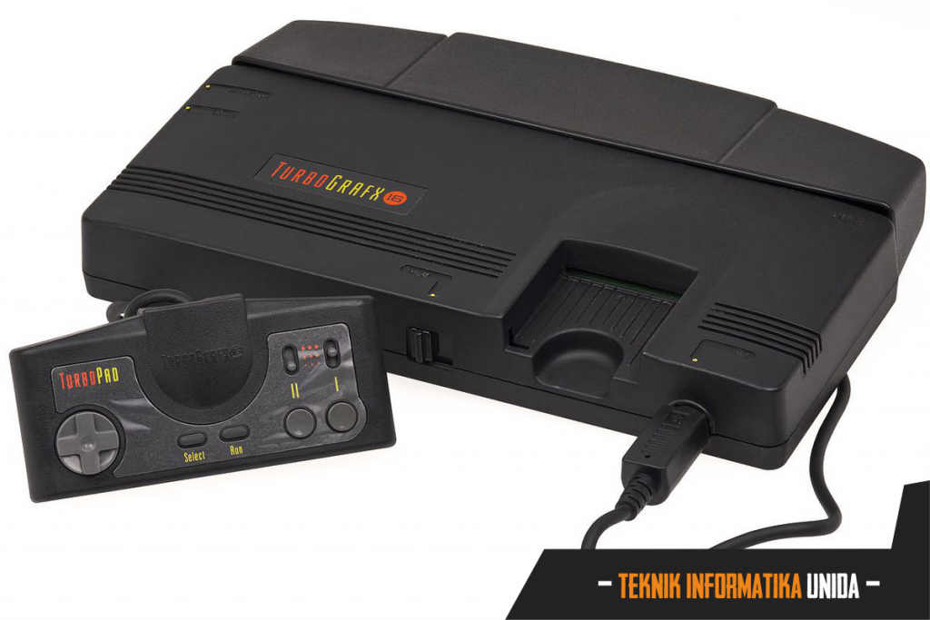 Tampilan The TurboGrafx-16