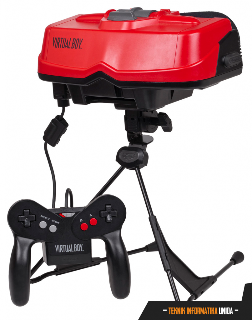 The Virtual Boy - Generasi awal dunia virtual