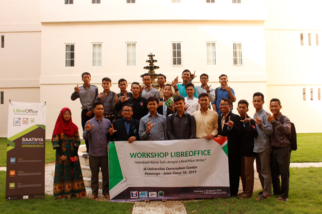 Workshop LibreOffice Writer di UNIDA Gontor