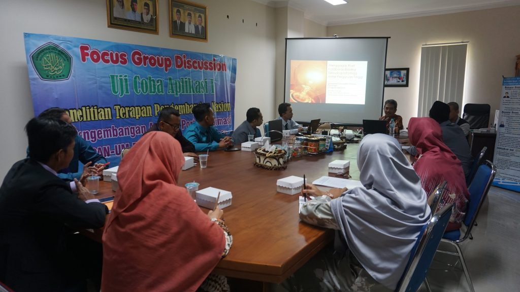 acara Forum Group Discussion di Fakultas Sains dan Teknologi Universitas Darussalam Gontor